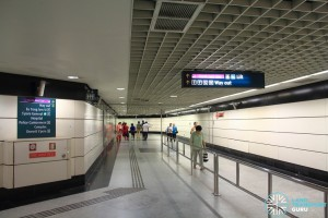 Outram Park MRT Station - B3 Transfer Linkway