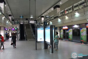 Outram Park MRT Station - NEL Platform level