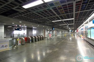 Clarke Quay MRT Station - Faregates