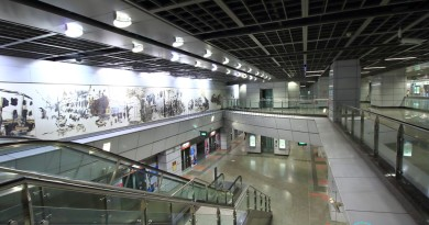 View of platform level