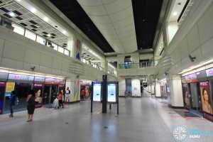 Farrer Park MRT Station - Platform level