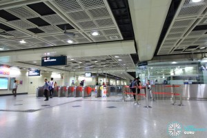 Farrer Park MRT Station - North Faregates & Passenger Service Centre