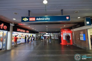 Admiralty MRT Station - Exit D