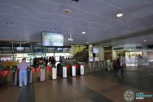 Sembawang MRT Station - Passenger Service Centre & Faregates