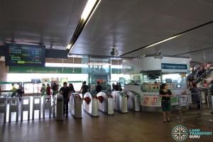 Yishun MRT Station - Passenger Service Centre & Faregates
