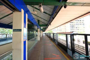 Khatib MRT Station - Platform A