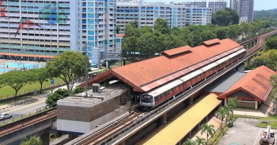 Khatib MRT Station - Aerial view