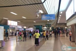 Ang Mo Kio Station: Unpaid concourse
