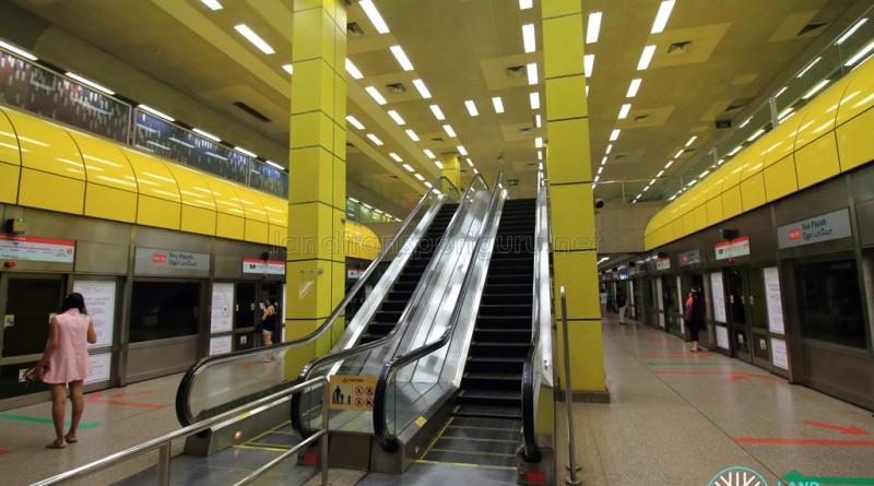 Toa Payoh MRT Station - Platform level
