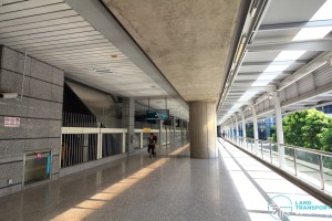 Jurong East MRT Station - Unpaid corridor, as part of J-Walk (Exits C, D)