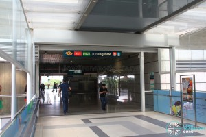 Jurong East MRT Station - Exit D - Linkbridge to Westgate
