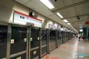 Novena MRT Station - Platform B
