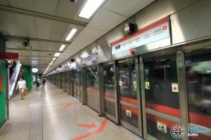 Novena MRT Station - Platform A