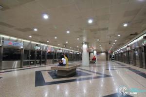 NSL Platform level: Waiting area