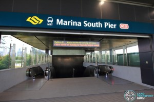 Marina South Pier MRT Station - Exit A
