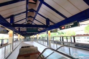 Bukit Gombak MRT Station - Platform level