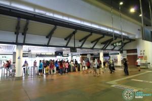Concourse level (Paid area)