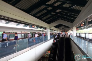 Kranji MRT Station - Platform level
