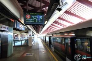 Marsiling MRT Station - Platform A