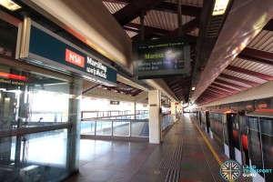 Marsiling MRT Station - Platform B