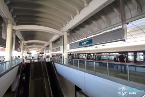 Woodlands MRT Station - Platform level