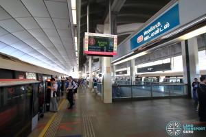 Woodlands MRT Station - Platform A
