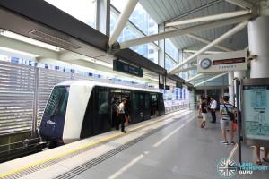 Punggol MRT/LRT Station - PGLRT Platform 2