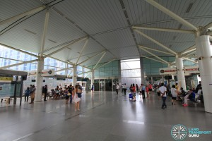 Punggol MRT/LRT Station - PGLRT Platform level