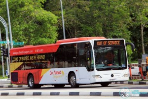 Go-Ahead Singapore Mercedes-Benz Citaro