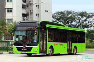 SMRT Buses MAN A22 (SG1712K)