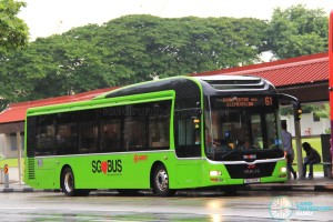 SMRT MAN A22 (SG1712K) - Service 61