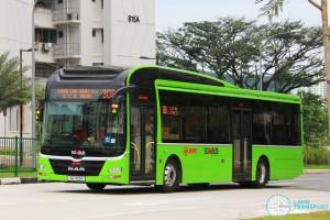 SMRT Buses MAN NL323F A22 (SG1713H)