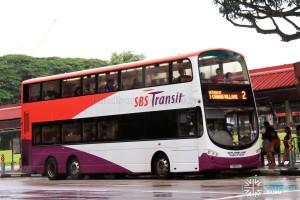 SBST Volvo B9TL (SBS2X) - Service 2