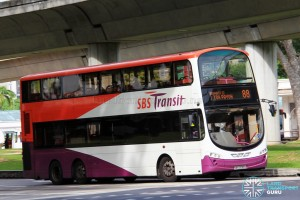 SBS3065U on 88 - Volvo B9TL, Wright Eclipse Gemini II body