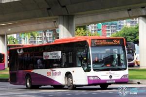 SBST Mercedes-Benz O530 Citaro (SBS6481G) - Service 354