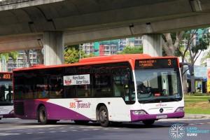 SBS Transit Mercedes-Benz Citaro (SBS6494U) - Service 3