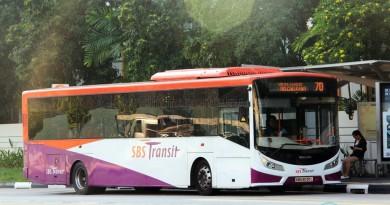 SBST Volvo B7RLE (SBS8030L) - Service 70