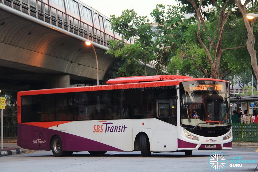 SBS Transit Volvo B7RLE
