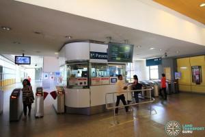 Kallang MRT Station - Passenger Service Centre & Faregates