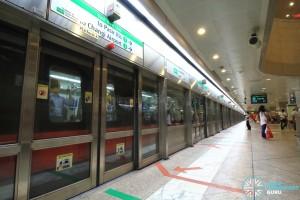 Lavender MRT Station - Platform A