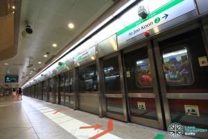 Lavender MRT Station - Platform B