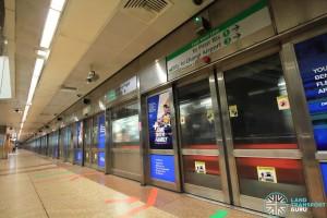 Tanjong Pagar MRT Station - Platform A