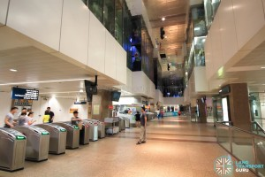 Tanjong Pagar MRT Station - Concourse level