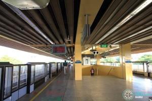 Commonwealth MRT Station - Platform level