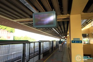 Commonwealth MRT Station - Platform B
