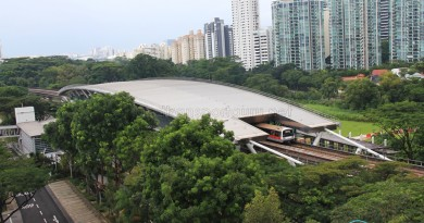 Dover MRT Station - Aerial view