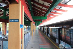 Chinese Garden MRT Station - Platform B