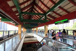 Lakeside MRT Station - Platform level