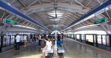 Pioneer MRT Station - Platform level