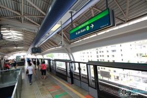 Pioneer MRT Station - Platform B